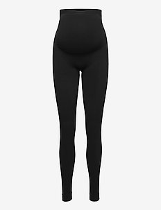 Leggings Ella MOM Seamless - leggings - black