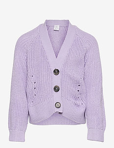 Cardigan Dafne - koftor - lilac