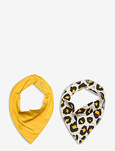 Scarf 2 pack CoP - hagesmæk - yellow