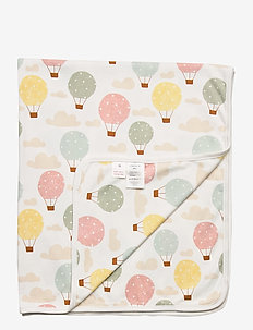 Shawl SN Balloons - blankets & quilts - white