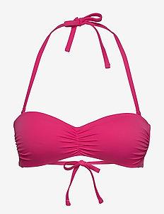 Swim Bra Monica Pisa Bandeau - bikini tops - pink