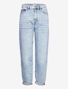 Trousers denim Pam blue - mom jeans - blue