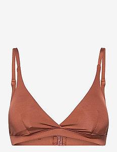 Swim Bra Courteney Triangle - góry strojów kąpielowych - orange
