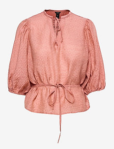 blouse Dora - langärmlige blusen - pink