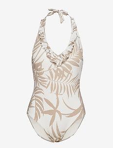 Swimsuit Janine Swimsuit halte - baddräkter - white