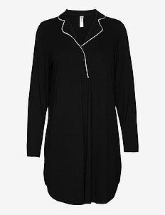 Night Shirt Jersey Lina MOM - tops - black