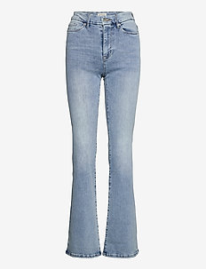 Denim trousers Mira lt blue - flared jeans - blue