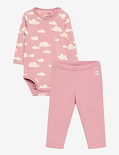 Set body and leggings cloud - 2-piece sets - pink