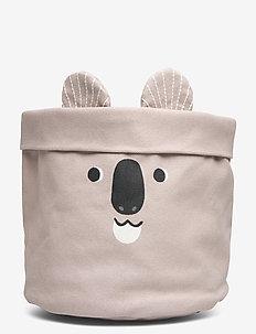 Basket CoP Koala bear - przechowywanie - beige