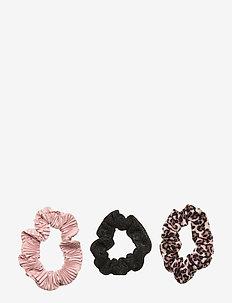 Hair elastic scrunchies leo pl - haar accessoires - brown