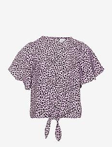 Blouse Tanja - blouses & tunics - lilac