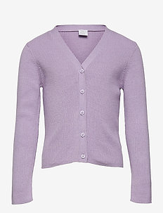 Cardigan Vneck - gilets - lilac