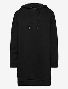 Dress hoodie September - korte kjoler - black
