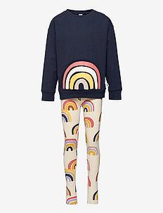 Set Sweater   leggings Rainbow - 2-piece sets - blue