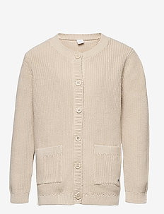 Cardigan Patent knit - gilets - beige