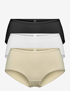Brief 3-pack Polly Classic re - hipster & boxershorts - multi