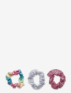 Hair elastic scrunchies rainbo - haar accessoires - metallics