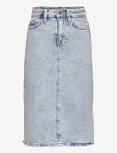 Skirt denim Riley - röcke - blue