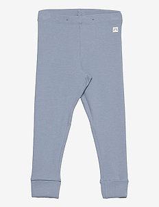 Leggings rib solid X9 - leggingsit - blue