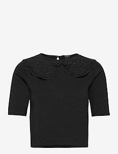 Top Amalia - t-shirts - black