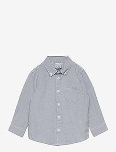 Shirt Blue stripe - shirts - white