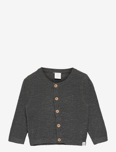 Cardigan slub - gilets - grey