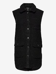 Vest Fanny - gebreide vesten - black