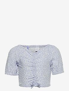 Blouse Kylie - blouses & tunics - blue