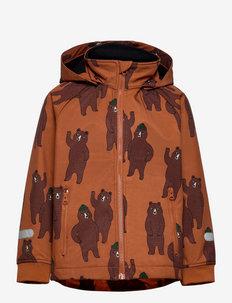 Jacket FIX Softshell - softshelljacke - brown