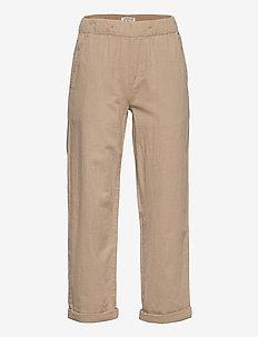 Trousers Linnen - trousers - beige
