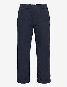 Trousers Linnen - trousers - blue