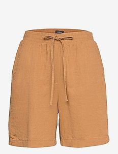 Shorts Gillian linen - casual shorts - beige