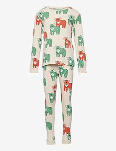 Pajama uni aop koala CoP - sets - beige