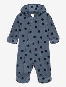 Overall fleece - fleece sets - blue