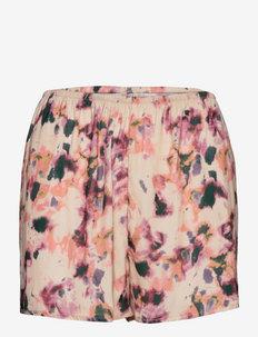 Shorts Nora print - shorts - beige