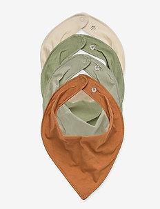 Scarf 4 pack solids - slabbertjes - green