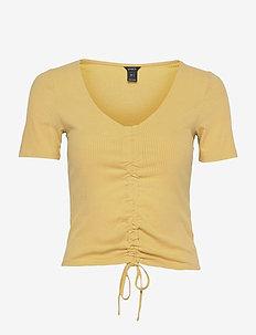 Top Danika - t-shirts - yellow