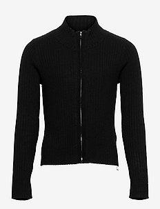 Cardigan Vicky zip - gilets - black