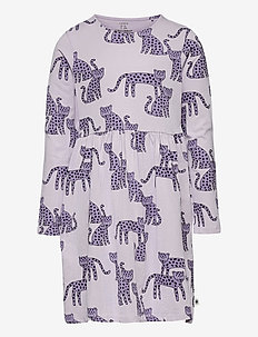 Dress Leo animal - kleider - lilac