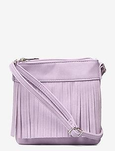 Bag fringles - crossbody bags - lilac