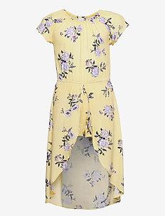 Dress w shorts Sibel - kleider - yellow