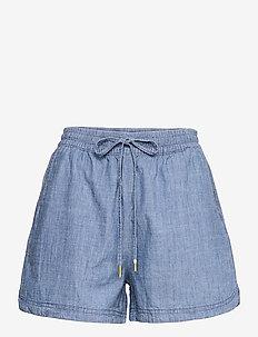 Shorts Matilda Chambray - casual shorts - blue