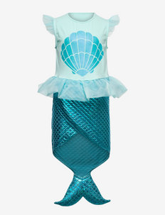 Dress mermaid dress out - costumes - turquoise