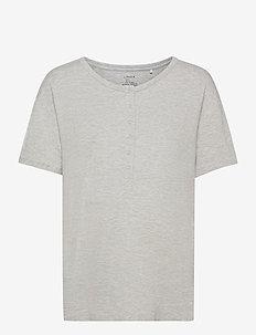 Night Top Mom Mia Nursing - t-shirts - grey