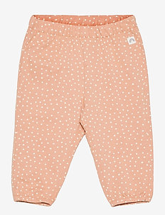 Trousers jersey puff - trousers - beige