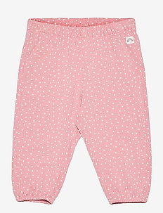 Trousers jersey puff - trousers - pink