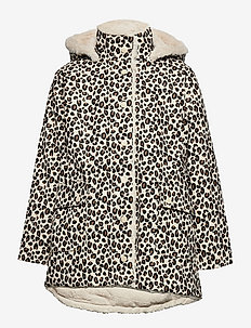 Raincoat fur lined - vestes - beige