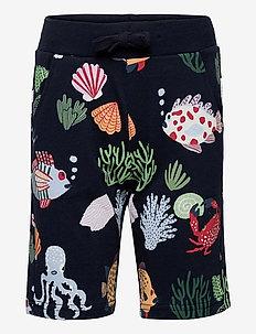 Shorts Colorful sea - shorts - blue
