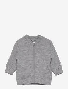 Set baby wool terry - grey