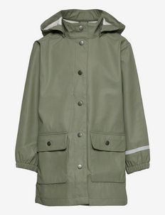 Raincoat uni - jassen - khaki